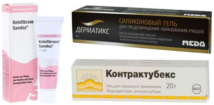 Препараты для предотвращения рубцов после блефаропластики