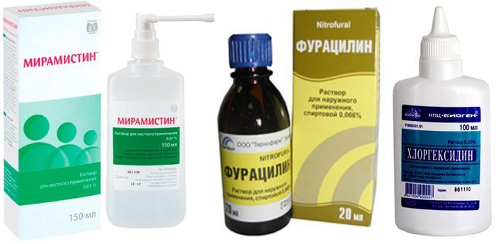 Медицинские растворы для промывания глаз детям