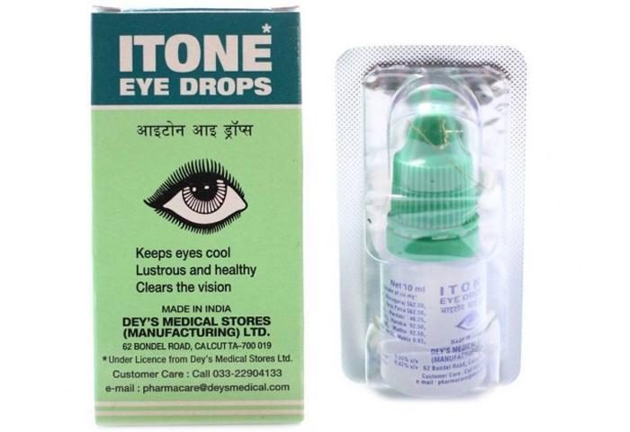 Глазные капли Айтон
