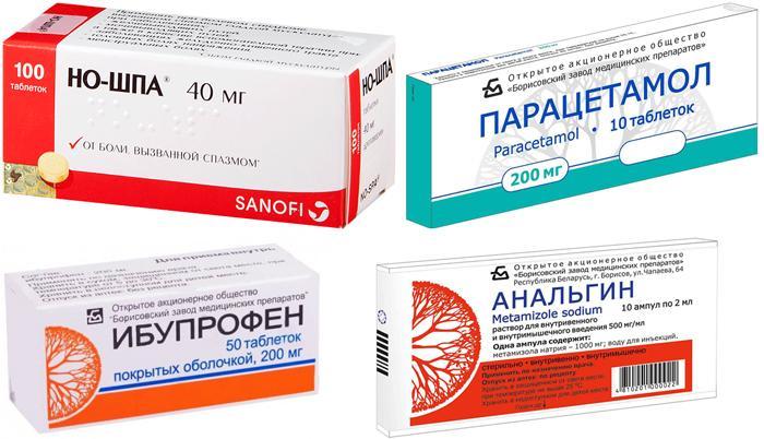 Медикаменты от боли в виске