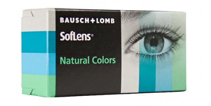 Цветные линзы SofLens Natural Colors