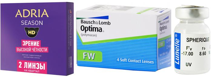 Популярные контактные линзы для длительного ношения