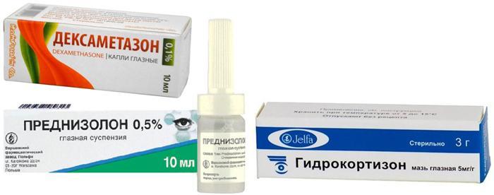 Противоглаукомные и противокатарактные препараты для глаз