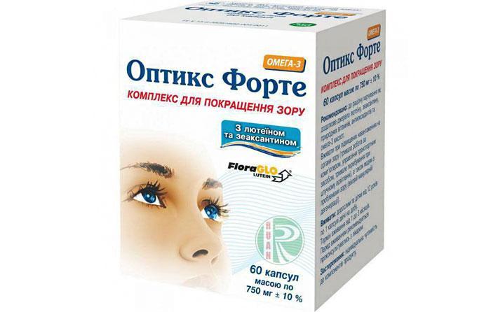 Лекарственный препарат Оптикс Форте