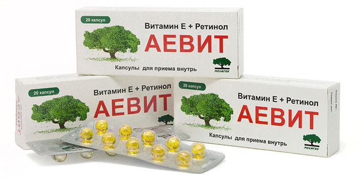Лекарственный препарат Аевит