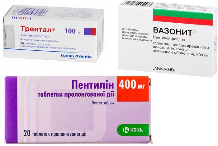 Лекарственные препараты от ангиорпатии сетчатки глаза