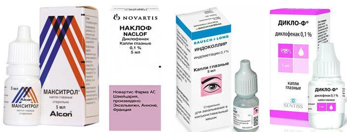 Хирургическое лечение катаракты: Применение капель в послеоперационный период