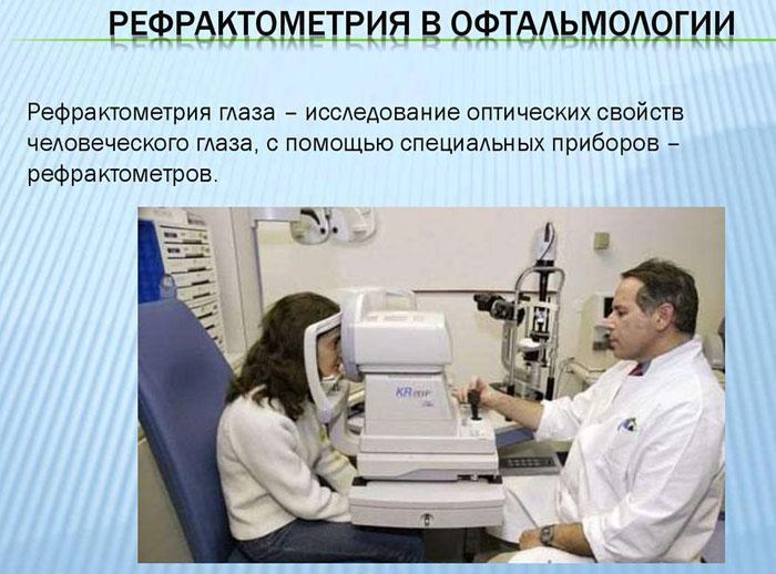Что такое рефрактометрия глаза