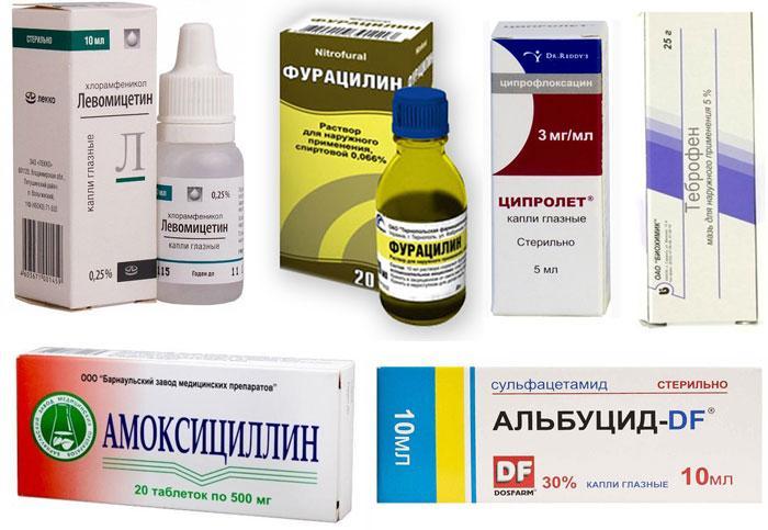 Лекарственные препараты для лечения конъюнктивита при беременности во втором триместре