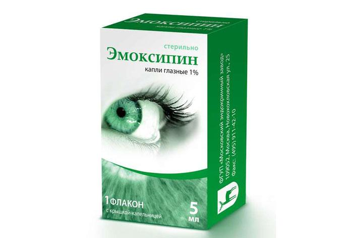 Глазные капли Эмоксипин