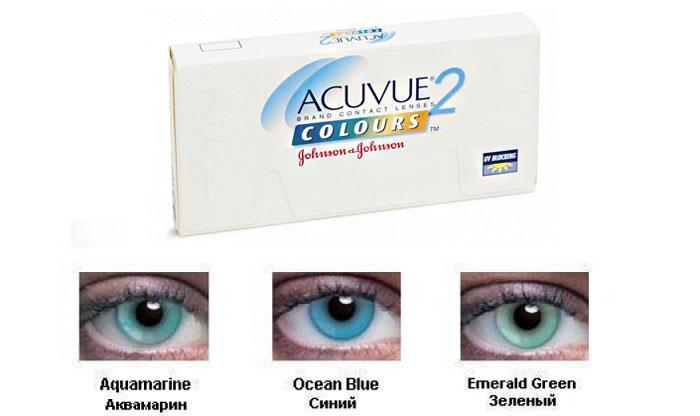 Acuvue 2 Colours Enhancers оттеночные линзы