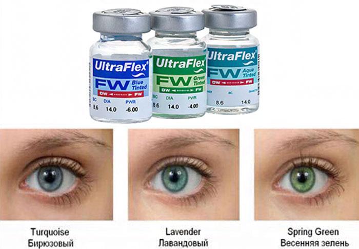 Оттеночные линзы Ultra flex
