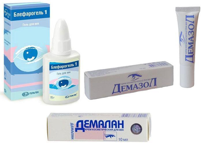 Лекарственные препараты от демодекоза век