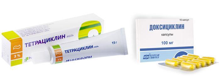 Лекарственные препараты новорожденным от дакриоцистита