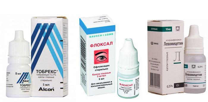 Глазные капли для лечения дакриоцистита