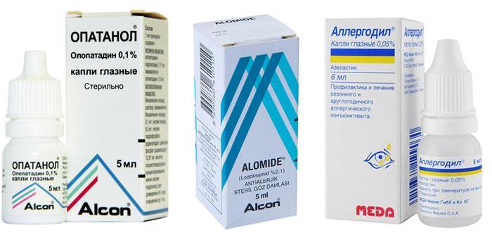 глазные капли при аллергическом конъюнктивите у детей 3х лет