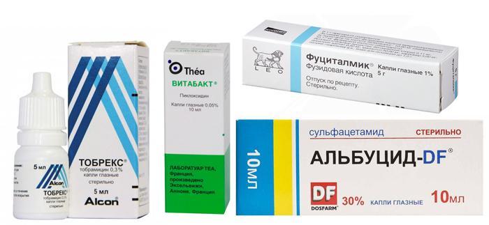 Лекарственные препараты от конъюнктивита для детей до 1 года