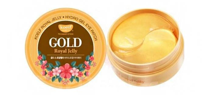 Патчи под глаза Koelf Gold Royal Jelly Hydro gel eye patch
