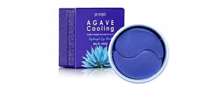 Патчи под глаза Petitfee Agave Cooling Hydrogel Eye Mask