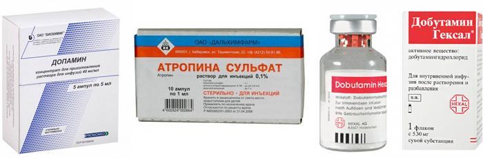 Лекарственные препараты для ликвидации сердечной блокады