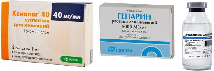 Лекарственные препараты для лечения ПВХРД